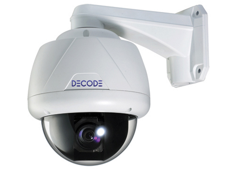 Decode DC H27POS Analog Speed Dome Kamera